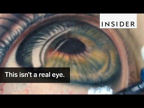 Freakishly Real Eye Tattoos