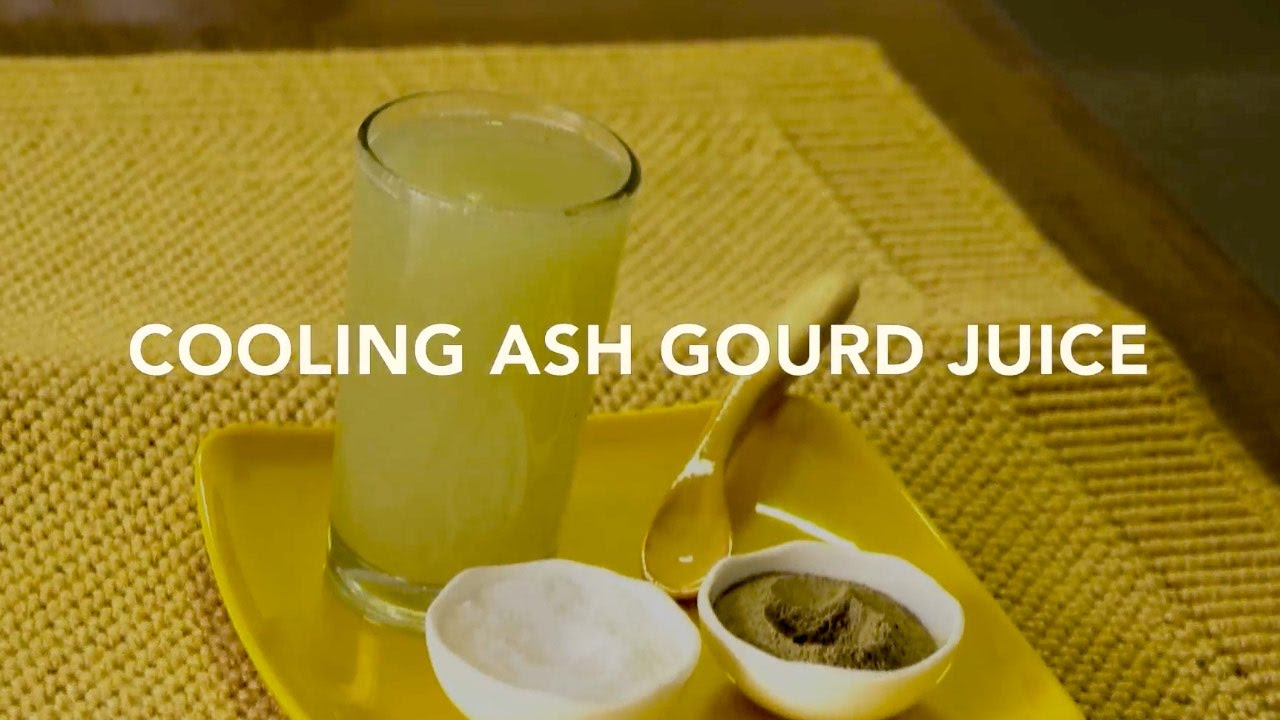 """Ash Gourd (Winter Melon), the """"Cool"""" Vegetable: Benefits"""