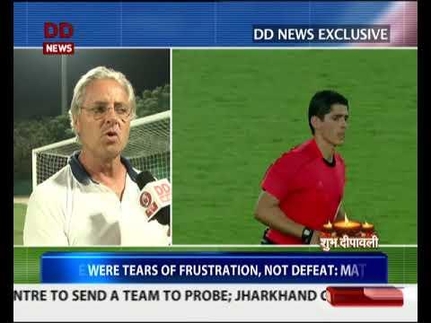 DD News' exclusive conversation with India U-17 Football team coach Luís Norton de Matos