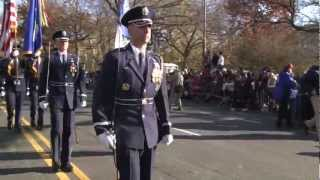 United States Air Force Band and Honor Guard Perform in Macy