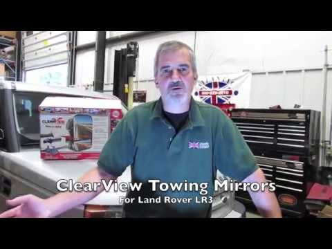 Install Clearview Towing Mirrors On An LR3