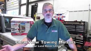 Install Clearview Towing Mirrors On An LR3 video screen shot