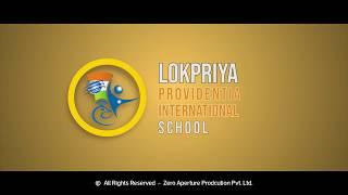 LokPriya Providentia International School logo Animation   Creative Motion Graphics - Intro