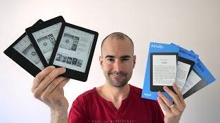 Kindle Oasis (2019) vs Paperwhite vs Basic | eReader Comparison