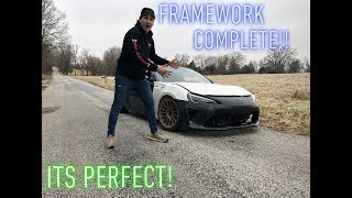 "Rebuilding a Wrecked BRZ Part 2 ""Frame Work"""