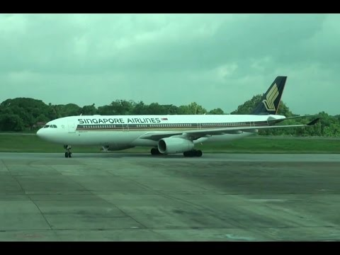 *Singapore Airlines,SQ997,Airbus A330-343,9V-SSC,RGN-SIN on 11 August 2015.
