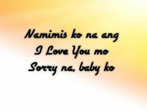Namimis Ko Na Ang I Love You Mo - MMJ Magno (Lyrics)