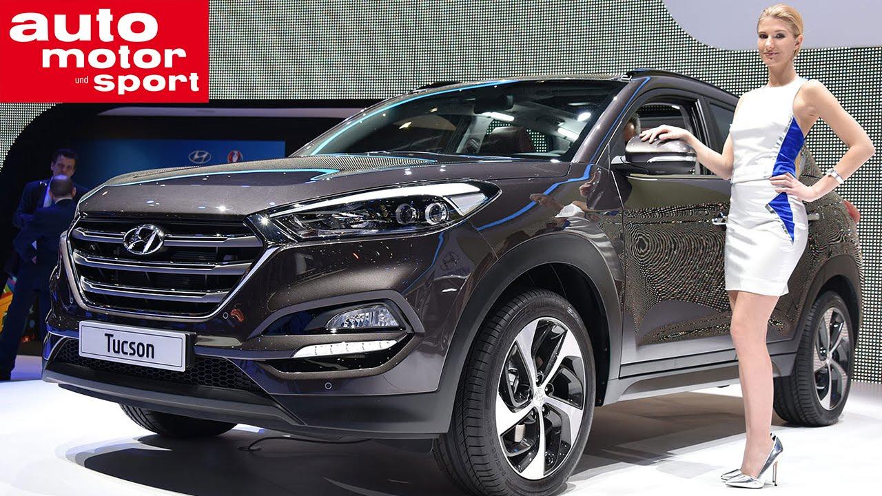 Hyundai Tucson in Genf 2015