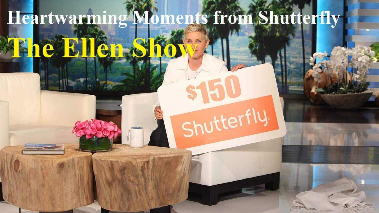 Heartwarming Moments from Shutterfly - The Ellen Show