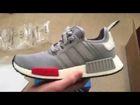 7de5dd41108ec Adidas NMD Runner Onix Grey Sneaker Unboxing - YouTube