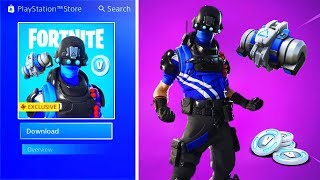 """New FREE """"PLAYSTATION CELEBRATION PACK 5"""" in Fortnite (Free Playstation Skin) thumbnail"""