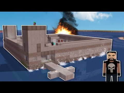 WATER BASE RAIDED! - Voxel Turf Gameplay - City Base Building Game!