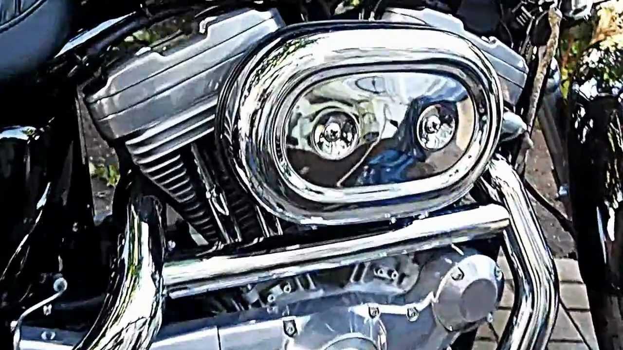 Harley Davidson Sportster 883 Hugger Eagle Exhaust