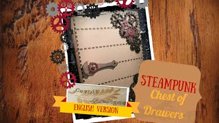 Steampunk Chest Of Drawers - Fernli Designs Dt Project 1