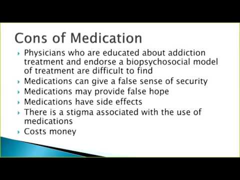 Medication Assisted Treatment Opiates and Alcohol