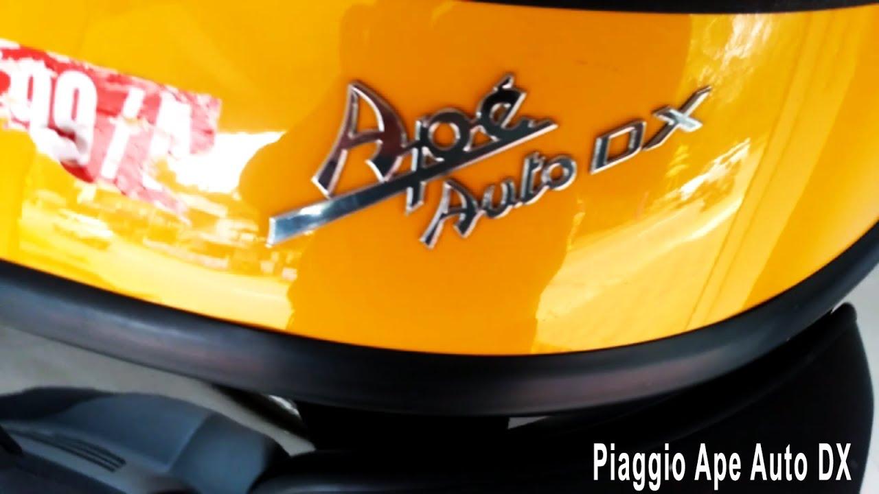 Piaggio Ape Auto Dx 3 Wheeler Passenger With Mileage 36kmpl And Ex