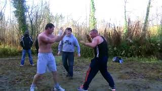 Highlights Of A Bloody 40 Minute Gypsy Bare Knuckle Boxing Fight Over A Facebook Post