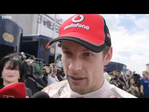 "Interview with Jenson Button after Qualifying for the Hungarian GP ""I want more cake"""