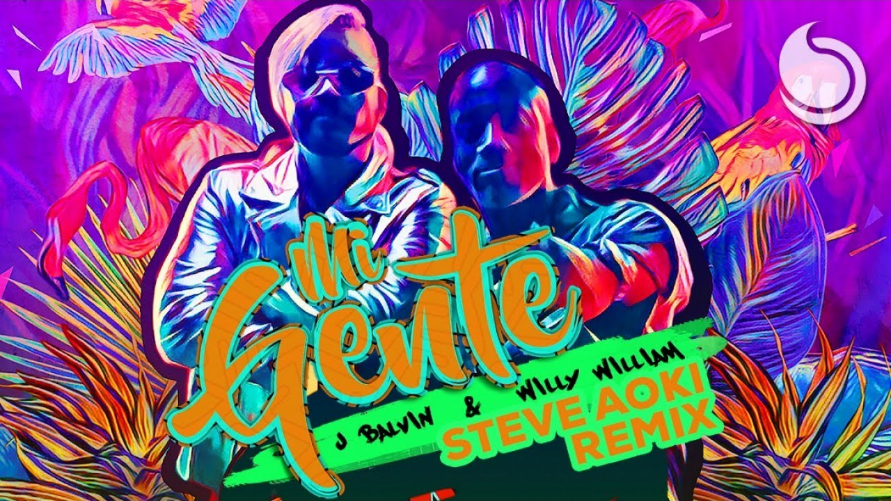 Resultado de imagen para J BALVIN & WILLY WILLIAM - MI GENTE (STEVE AOKI REMIX) [OFFICIAL MUSIC VIDEO]