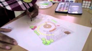 Speedart: Rendering A Site Plan With Watercolors