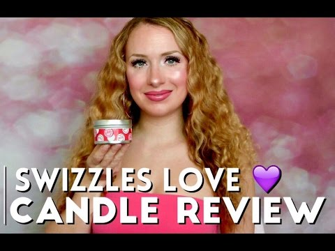 Swizzels Love Heart Candle Review - Red Cherry