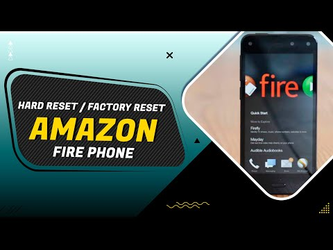 how to factory reset Amazon fire phone
