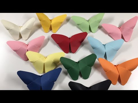 How to make origami butterfly DIY | Step by Step Paper Butterfly