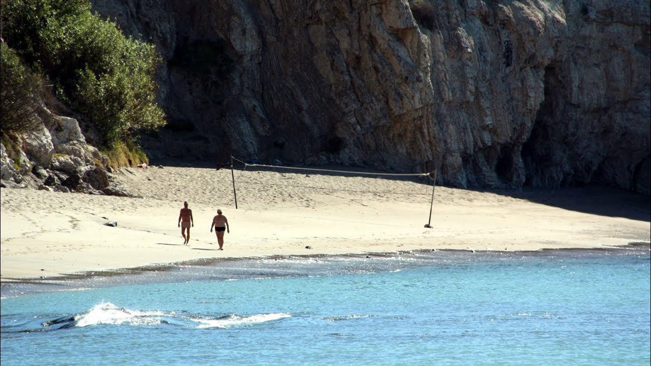 The beaches in wales where nudists are cooling off