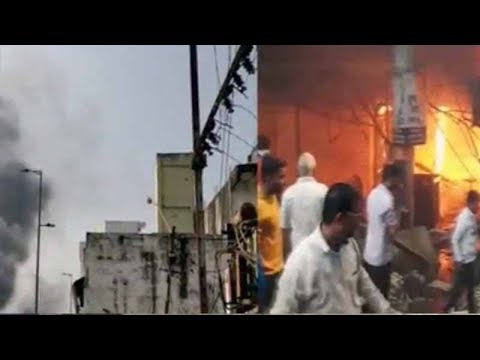 Bhopal: Over 100 shops gutted in shopping complex fire