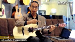 Mini Lessons with Az Samad, Lesson 6: Jazz Chords - Sixstrings, Malaysia