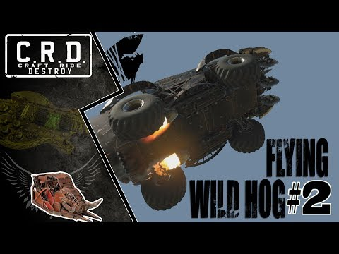 Crossout: [ Tusk & Rocket booster x6 ] FLYING WILD HOG #2 [ver. 0.9.40]