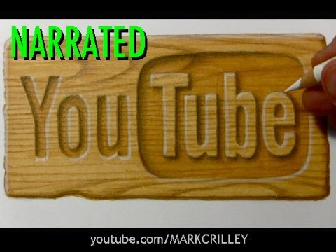 How to Illustrate a Wooden Surface: Marker + Colored Pencil