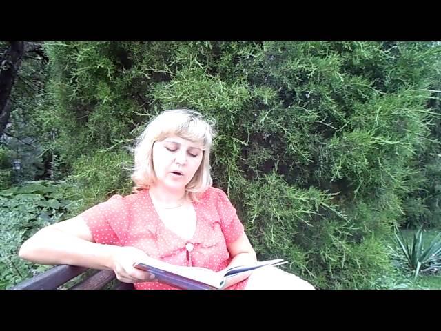 Изображение предпросмотра прочтения – ОльгаКравченко читает произведение «Запели тесаные дроги…» С.А.Есенина
