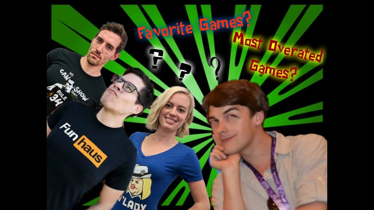 MatPat (Game Theory) and Funhaus discuss favorite games and most overrated  at Vidcon Australia 2017