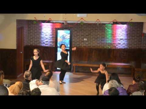 Kids' Ballet - Manhattan Christmas 2015 Recital- Lorenz Latin Dance Studio
