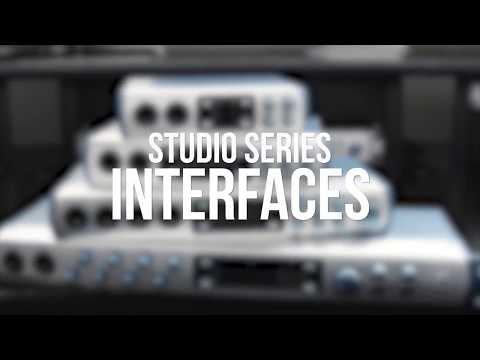 PreSonus Studio 1810 and Studio 1824 USB Audio Interfaces Intro | Full Compass