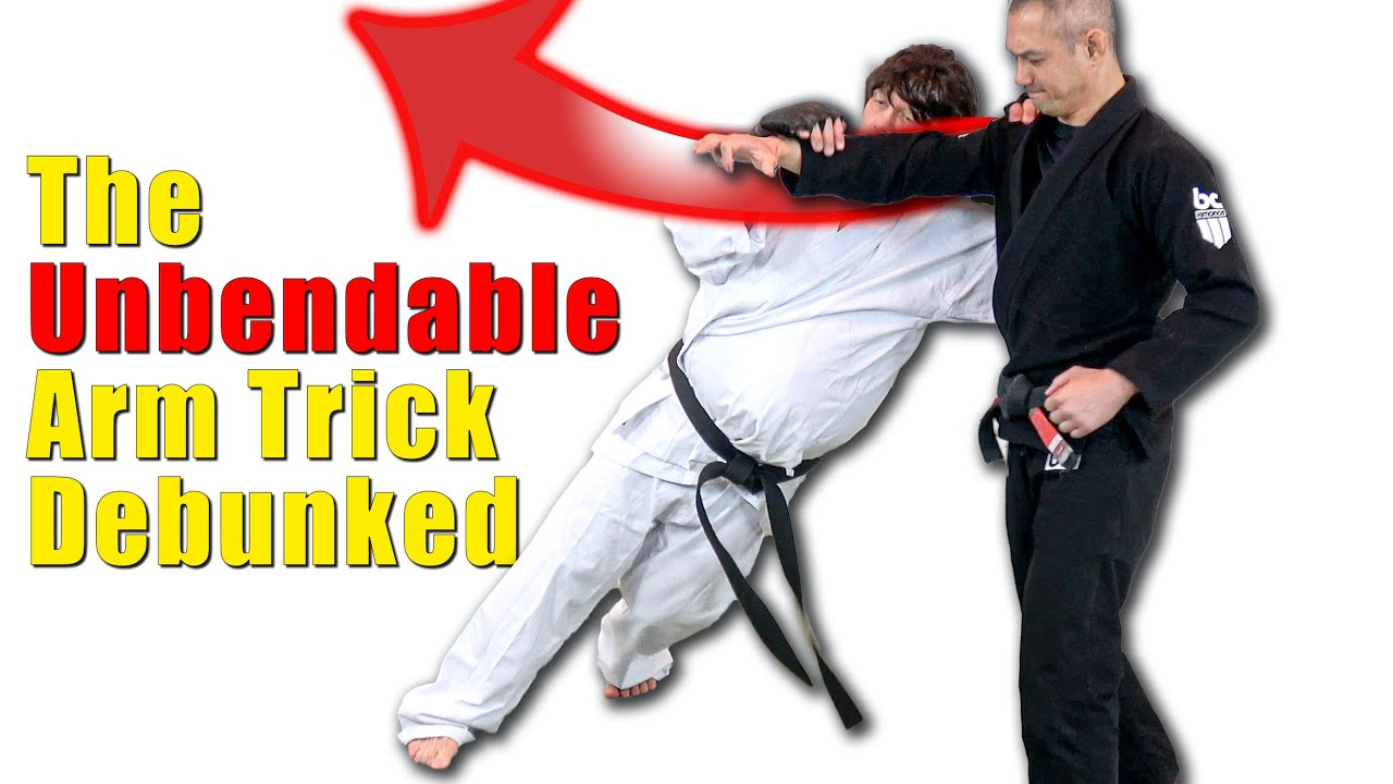 The Unbendable Arm Internal Energy Trick Debunked!