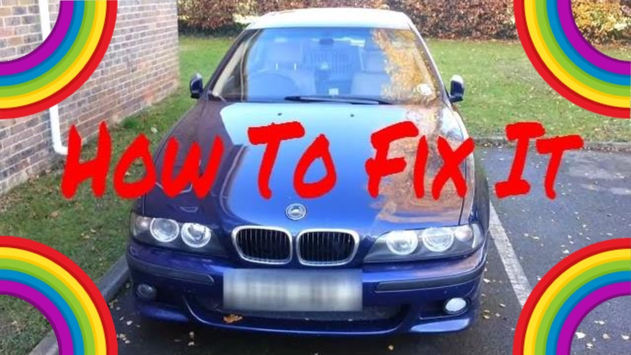 BMW E39 ABS and ASC - How To Fix - YouTube