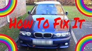 BMW E39 ABS and ASC - How To Fix