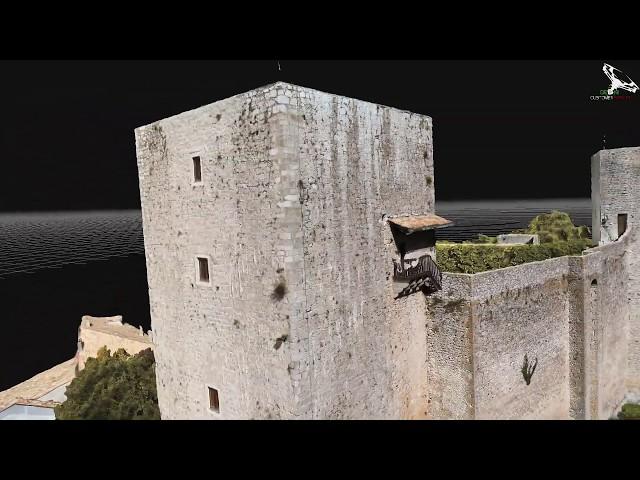 Castello Medievale di Pereto, unione di due progetti con punti di controllo