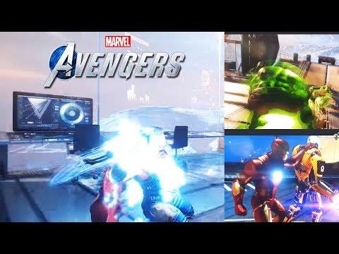 New Avengers Game | 1 DAY LEFT! New Gamepay Location Teaser?
