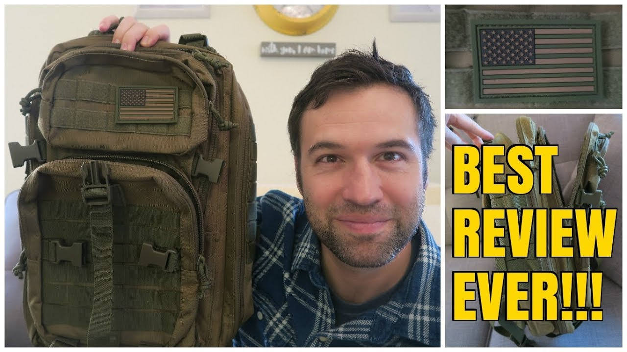 f28bc0262c Reebow Tactical 3 Day Military Backpack  BEST REVIEW EVER!!! - YouTube