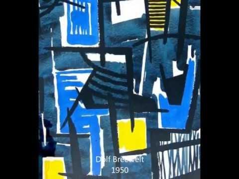 Adolf 'Dolf' Breetvelt (1892-1975) oeuvre impression - Klasema ART: Abstract Modern Art