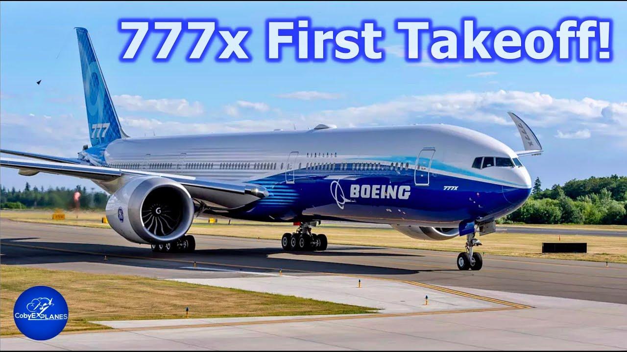 777x First Takeoff!