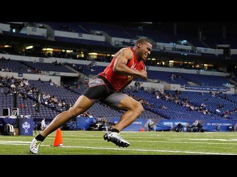 Cam Newton (Auburn, QB) 2011 NFL Combine highlights