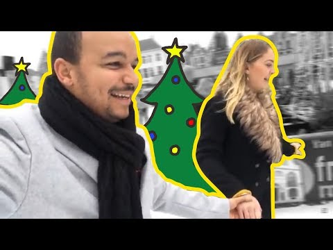 Bruges Christmas Market Belgium Travel VLOG 2017