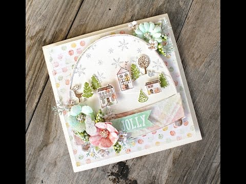 Sweet Peppermint Snow Globe and Die Feature with Cari Fennell