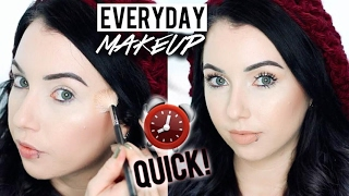 QUICK EVERYDAY MAKEUP ROUTINE! Long-Lasting | Acne Coverage