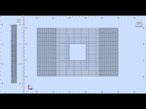 Lesson#14 Designing an RC Wall in Robot Structral Analysis Professional