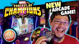 New Marvel Contest Of Champions Arcade Game At Dave And Busters!